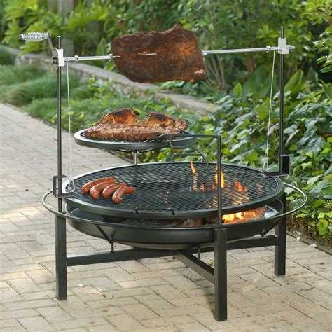 Firepit Grates Landmann Rock 48 Inches Pit With Grate Ebay
