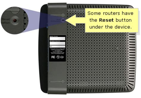 resetting wifi password cisco linksys official support resetting your linksys router