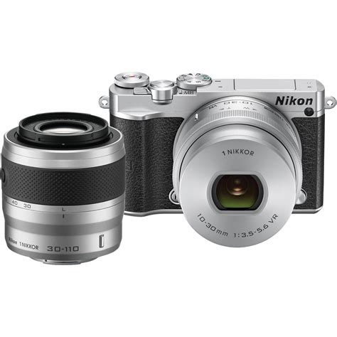 nikon 1 j5 mirrorless digital with 10 30mm and 27713 b h