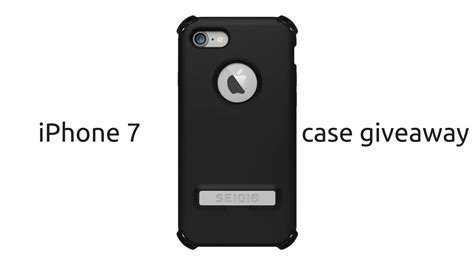 iphone 7 case giveaway seidio surface dliex bane tech - Iphone Case Giveaway