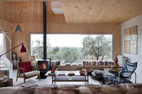 small forest cabin designed  built  environmental standards modern house designs