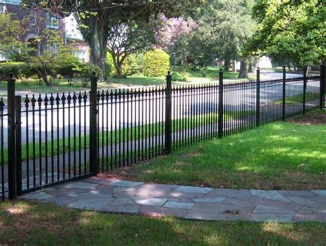 gates for backyard wrought iron fences landscaping network