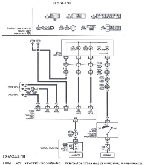 xterra trailer wiring diagram wiring diagram with
