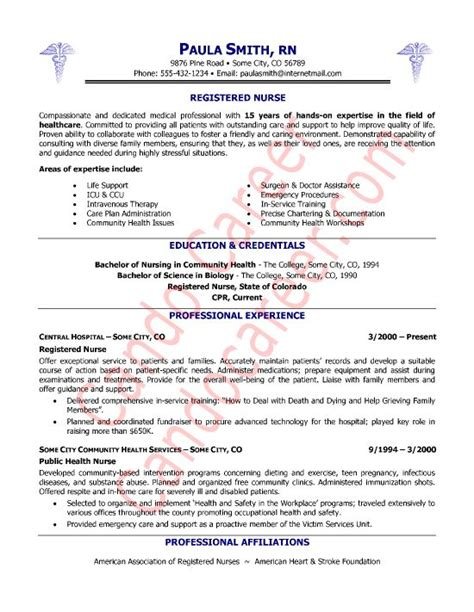 free registered nurse resume templates gfyork com