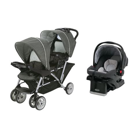 stroller with infant car seat graco duoglider click stroller infant car seat