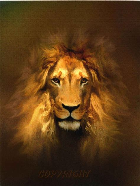 lion print lion art print painting wildlife animal leo zodiac