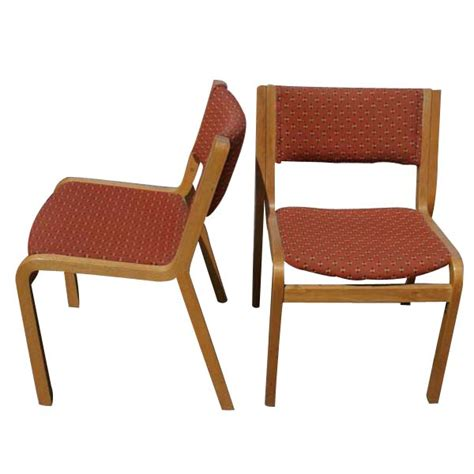 Shelby Williams Chairs Vintage by 1 Vintage Stendig Stacking Wood Side Dining Chair