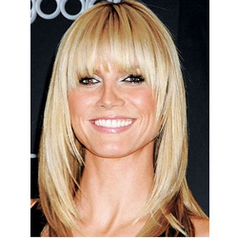 layered medium lenght hair with bangs related for medium length straight layered hairstyles with