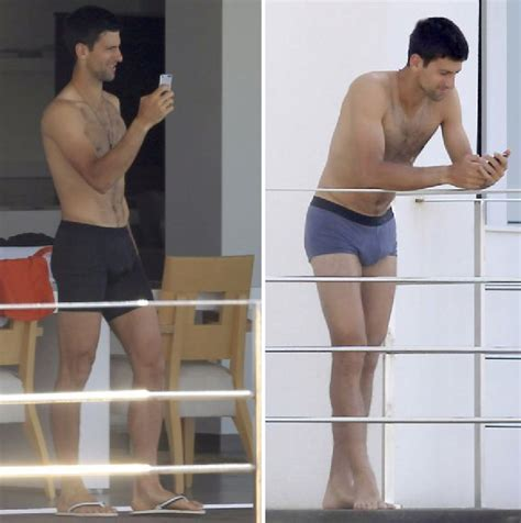 Novak Djokovic Provocative Bulge