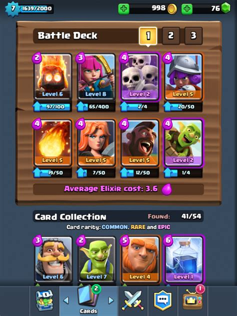 best clash royale decks arena 4 7 5 decks and strategy for winning trophies after