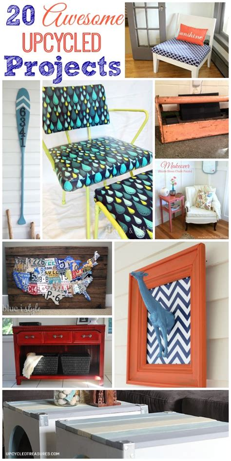 upcycled craft projects 20 awesome upcycled projects the happy housie