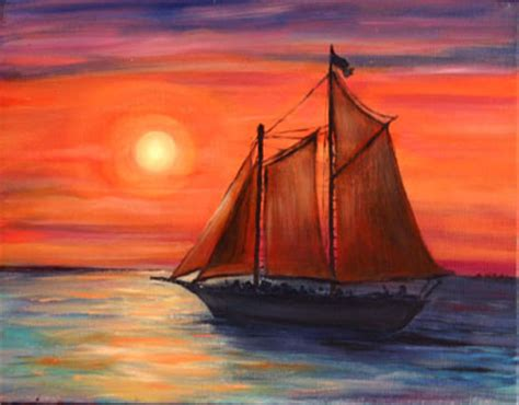 pelican boats zimbabwe key west sunset paintings