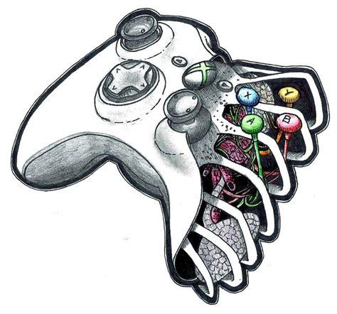 Drawing Xbox by Xbox 360 Pad By Patsurikku On Deviantart
