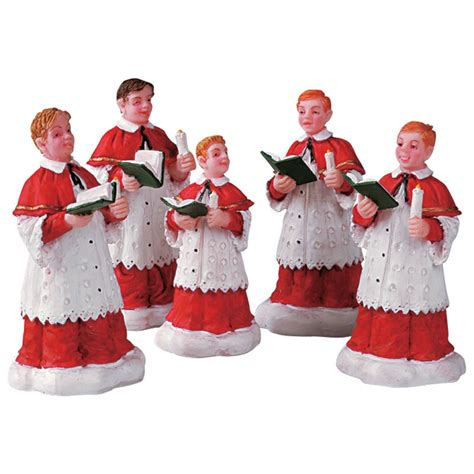 lemax the choir figurines set of 5 52038 bosworths