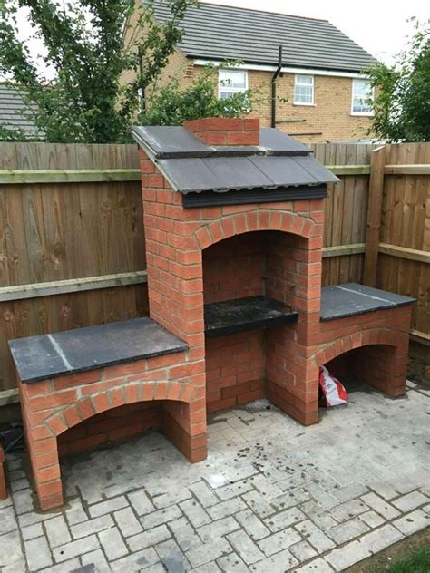 cool diy backyard brick barbecue ideas barbecues bricks
