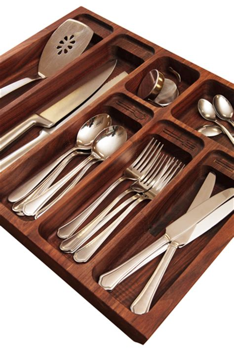 Wooden Cutlery Drawer Inserts by Solid Wood Cutlery Drawer Inserts