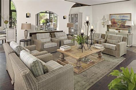 Decorators Showhouse Indoor Furnishings And Outdoor Using Outdoor Furniture Indoors