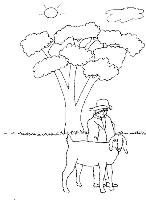 goat coloring book pages free coloring pages of goat