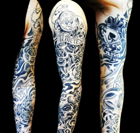 timeless sleeve tattoo designs timeless lettering ace of spades sleeve