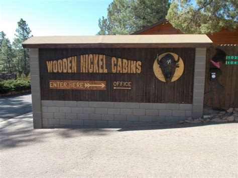 Wooden Nickel Cabins Payson by These 11 Awesome Cabins In Arizona Will Give You An
