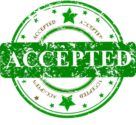 Accepted Mba by Getting Accepted Means Getting To Business