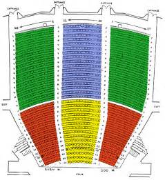 Chrysler Seating Chrysler Seating Chart Detailed