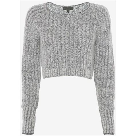 Aeb Knit Longsleeve Top crop top knitted sweaters