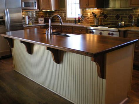 Countertops For Kitchen Islands Afromosia Custom Wood Countertops Butcher Block