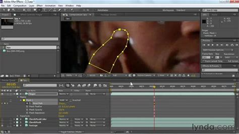 tutorial after effect rotoscoping rotoscoping the foreground