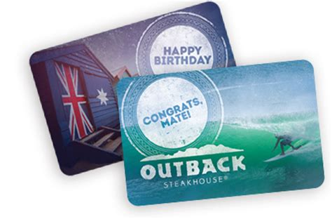 Where Can Outback Gift Cards Be Used - restaurant gift cards outback steakhouse