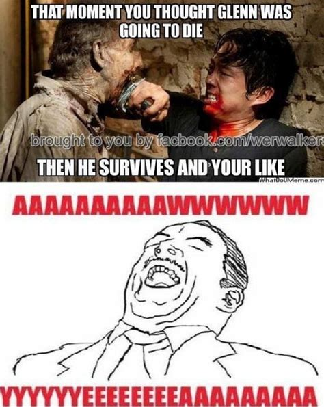 Glenn Meme - glenn pinned from pinto for ipad walking dead