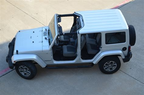 jeep wrangler unlimited sport top off right hand jks deliver through rain and sleet and snow