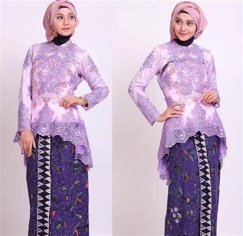 Kebaya Brukat Bsd 2 kebaya muslim brokat 2 model kebaya modern terbaru 2018