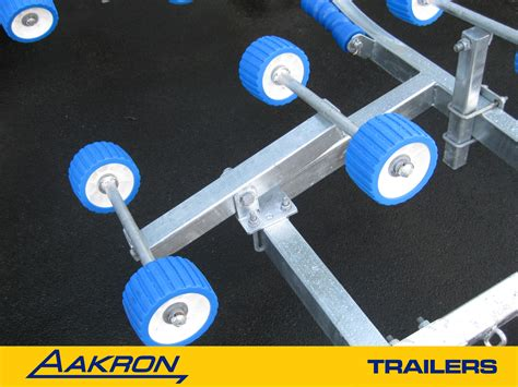 boat trailer rollers nz boat trailer tandem axle with over ride brakes suits 20