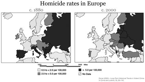 netherlands crime map homicides our world in data