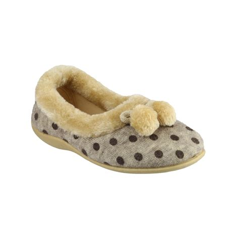 women house shoes mirak narbonne ballerina ladies slipper womens slippers