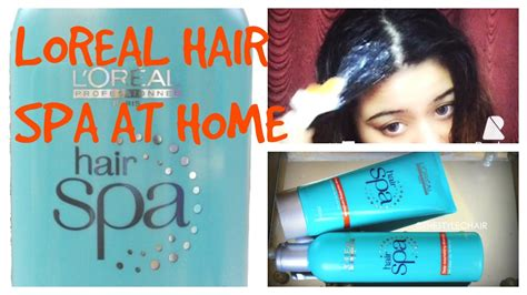 dimple d souza loreal hair spa at home for n