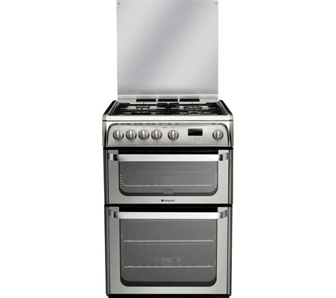 Gas Cooker Buy Hotpoint Ultima Hug61x 60 Cm Gas Cooker Stainless