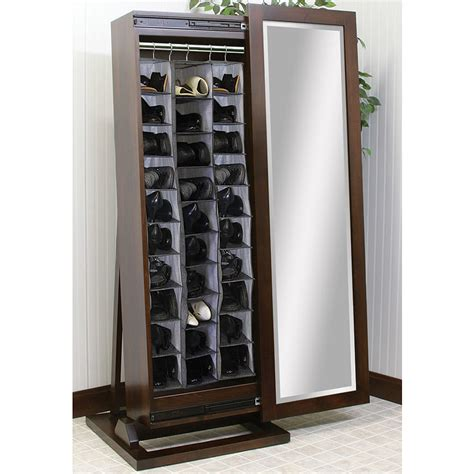 shoe storage with mirror length free standing beveled mirror with shoe