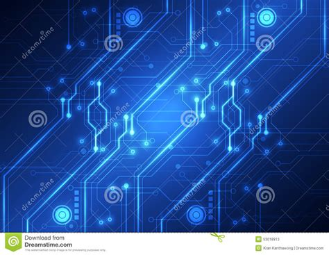 futuristic technology illustration stock images image abstract futuristic technology circuit board background