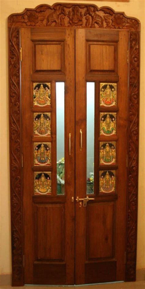 room door design latest pooja room door designs 2013 wood design ideas