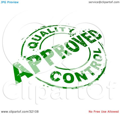 quality clipart clipart illustration of a green circular st with