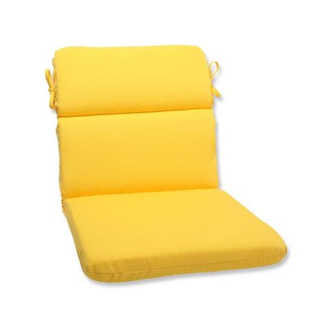 Patio Cushions Yellow 2051550367