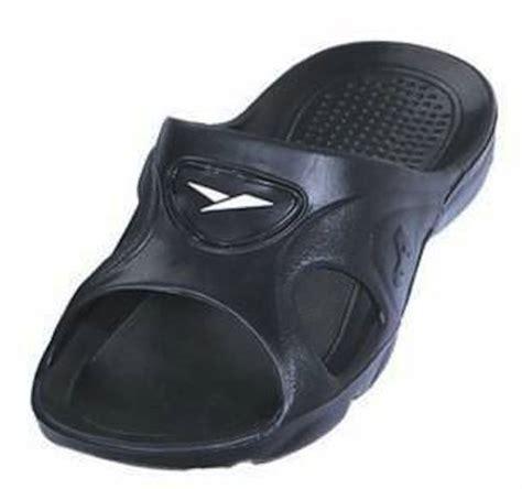 men s bathroom slippers gear one men s rubber slide sandal slipper comfortable