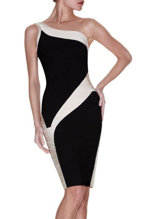 White And Black Dress black and white cocktail dresses fashionhdpics