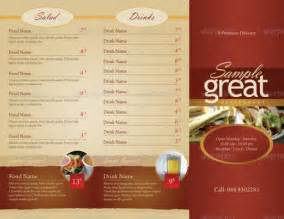 take out menu template 15 inspirational food menus designs designdune