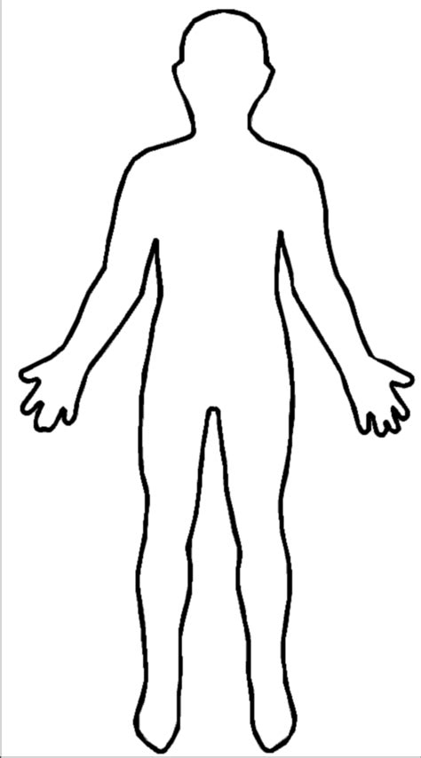 human figure template virtue us forgive me i am human