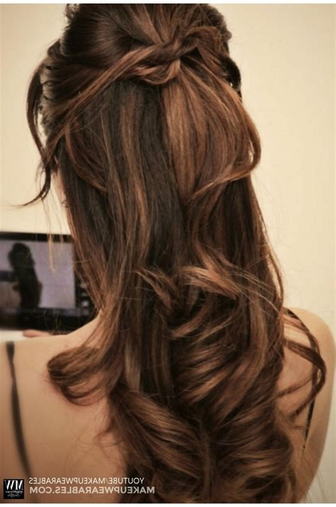 half updos for long hair hairstyle ideas magazine