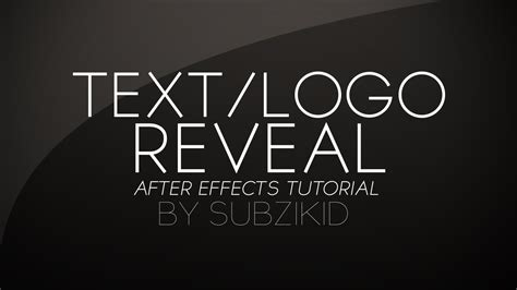 logo tutorial in after effects hand drawn text logo reveal tutorial after effects youtube
