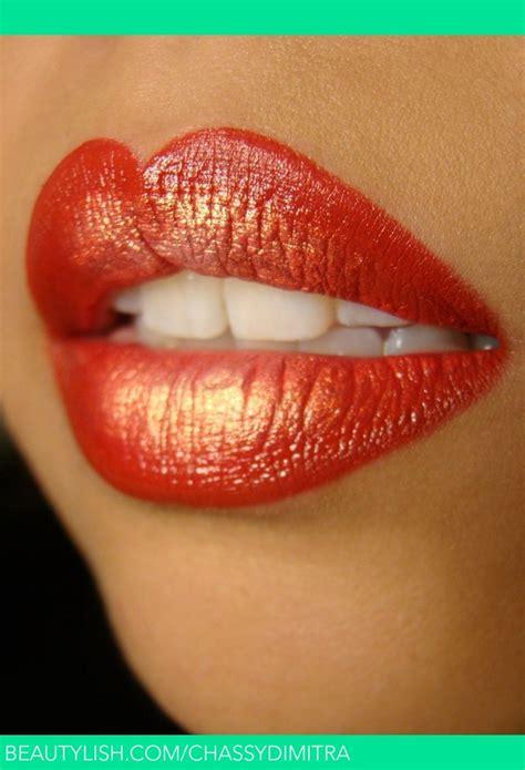 Eyeshadow Viva Orange and gold chassy d s chassydimitra photo beautylish